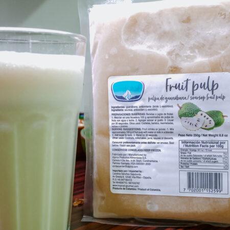 Guanábana/zuurzak smoothie