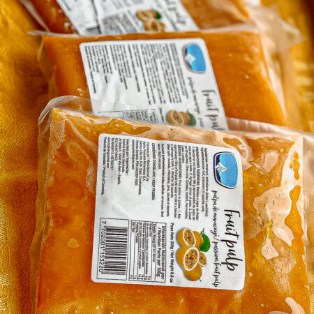 Fruit Pulp zak maracuya/ passievrucht