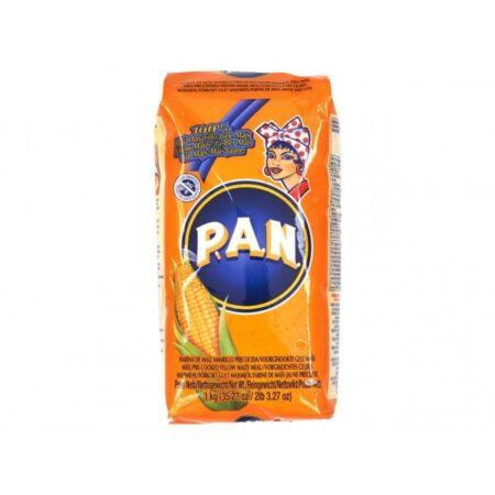 Pan maismeel geel